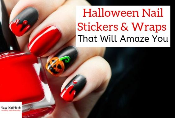 Halloween Nail Stickers & Wraps