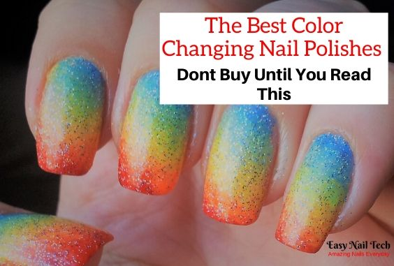 8 Best Mood & Color Changing Nail Polishes 2021