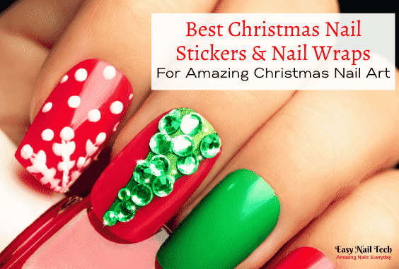 Best Christmas Nail Stickers & Wraps