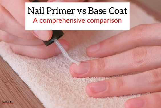 Nail Primer vs Base Coat –  Which One Should You Use